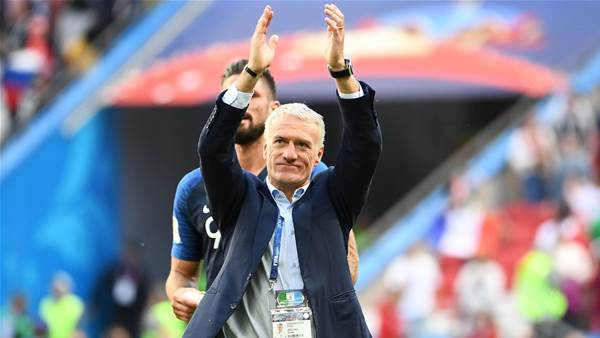 'Get used to it' says Deschamps as he gives VAR the nod
