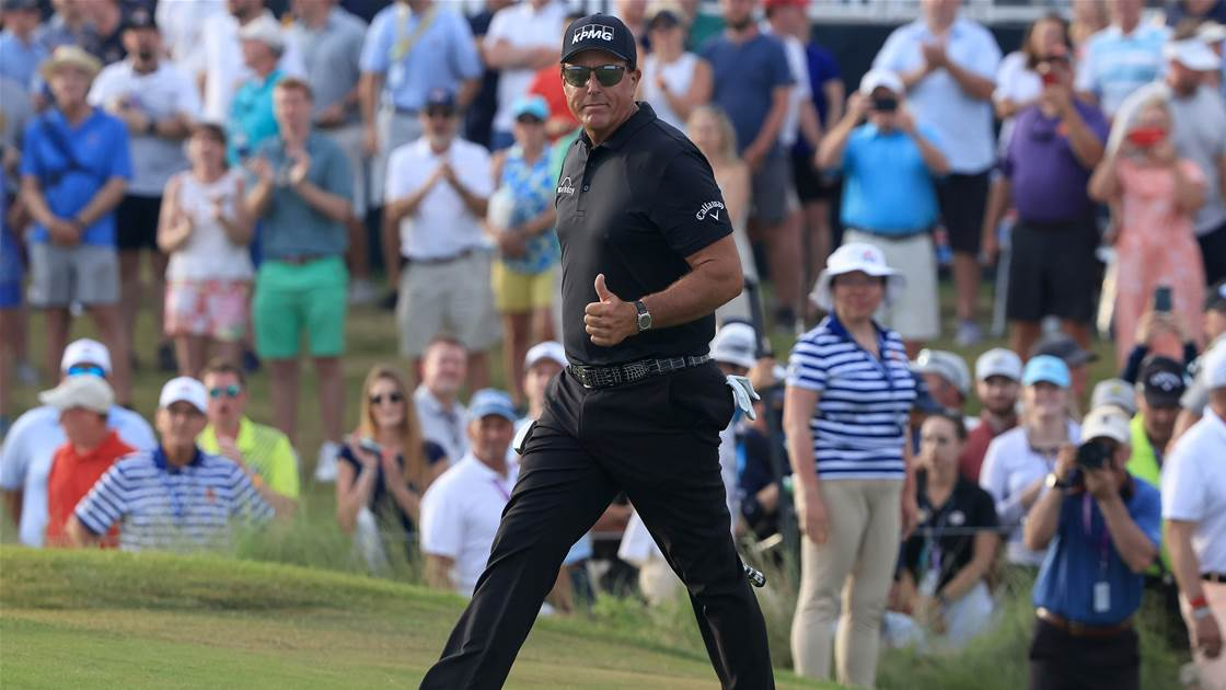 Diet and brain training help Mickelson