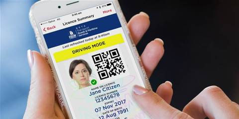 NSW digital driver's licence stalls under load