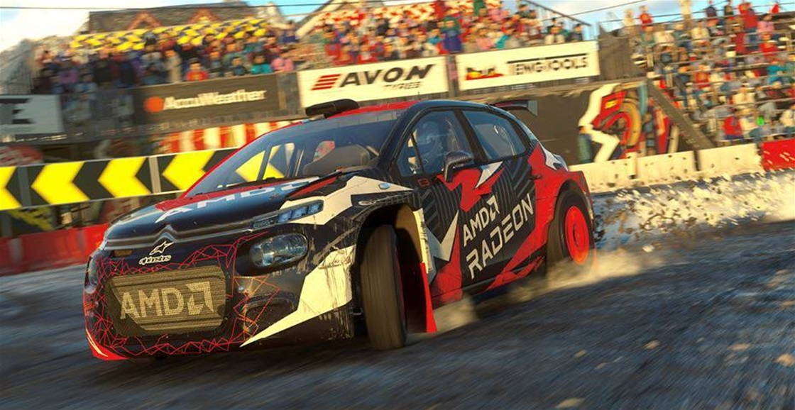 Playing Now: Dirt 5