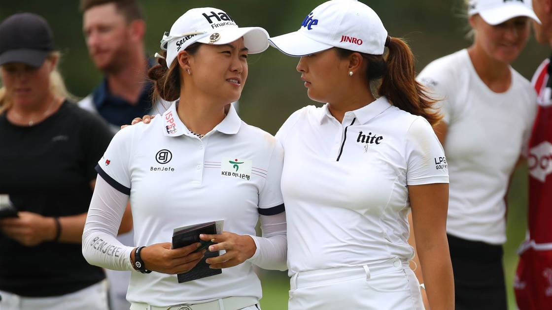 Minjee Lee runner-up in LPGA teams event