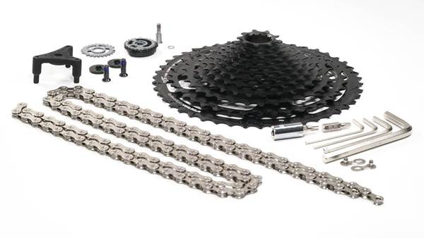 E13 launch a 12-speed upgrade kit
