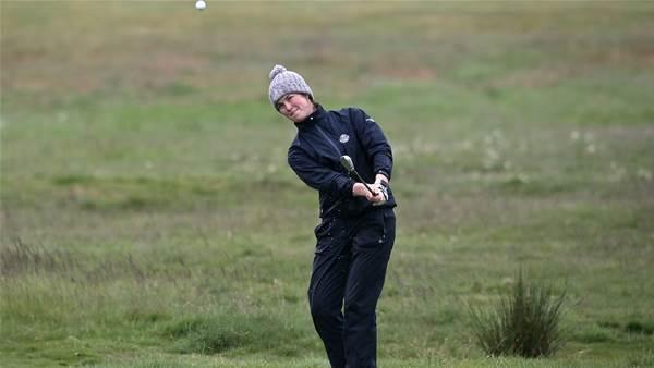 Donegan eliminates leading qualifier at Women's Amateur