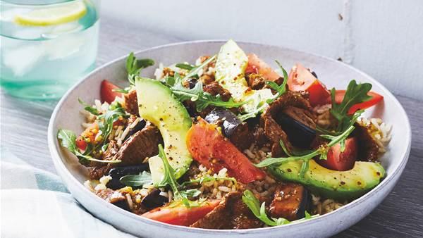 Lamb & Eggplant Rice