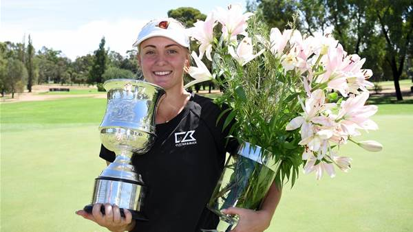 Engstrom saves best till last at Women's NSW Open