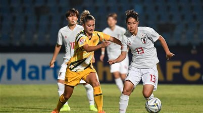 Young Matildas hammered 7-0 by Japan