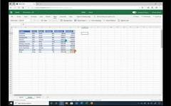 Excel tricks: sort data without messing up others' view