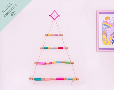 frankie exclusive diy: hanging christmas tree
