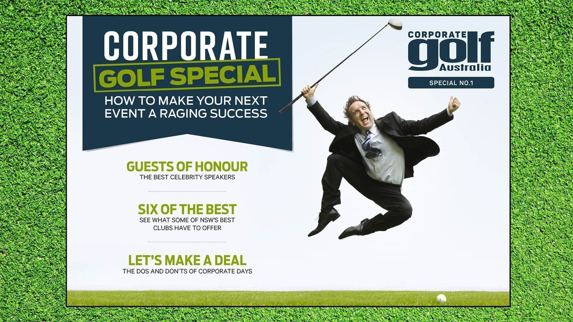 GA Express: Corporate Golf Special Issue #1