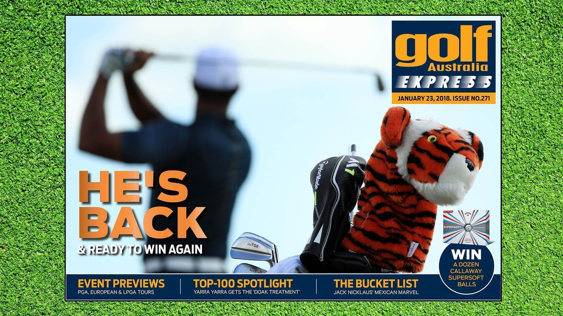 GA Express #271: Tiger's Back!
