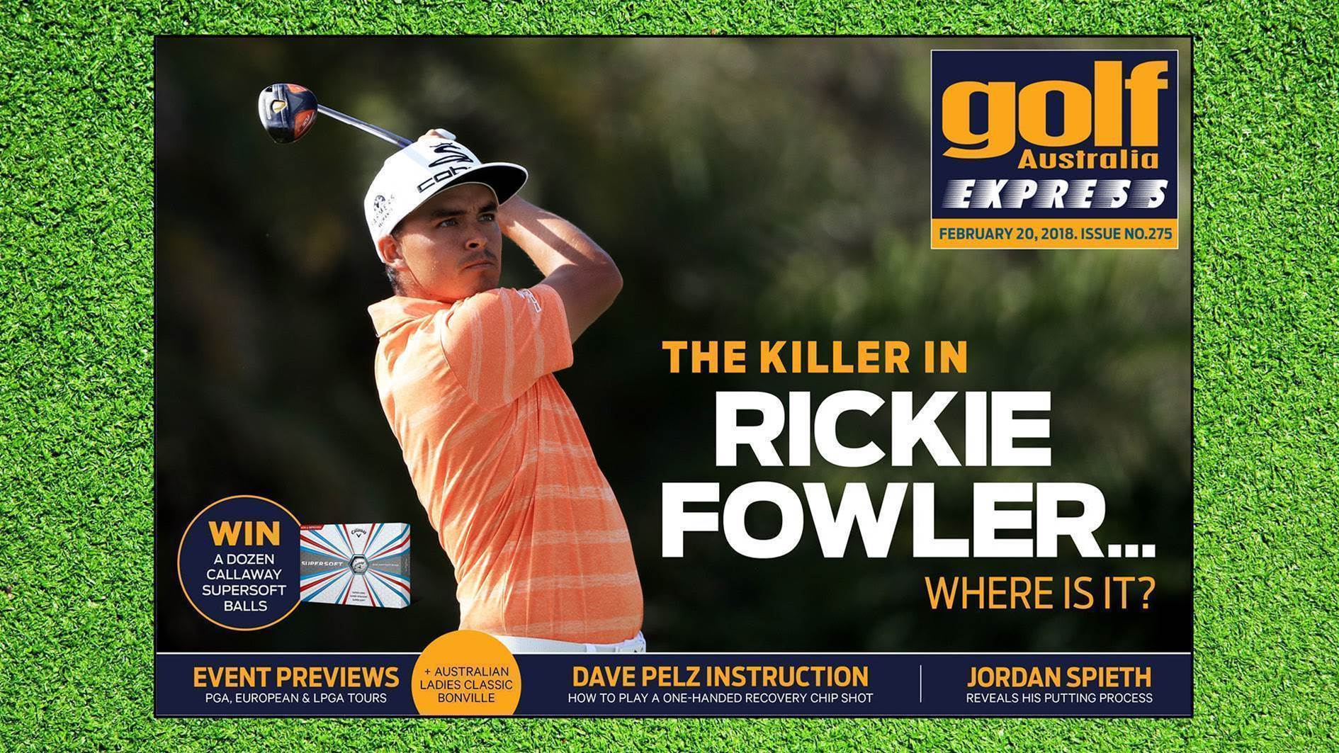GA Express #275: Rickie Fowler - No More Mr. Nice Guy