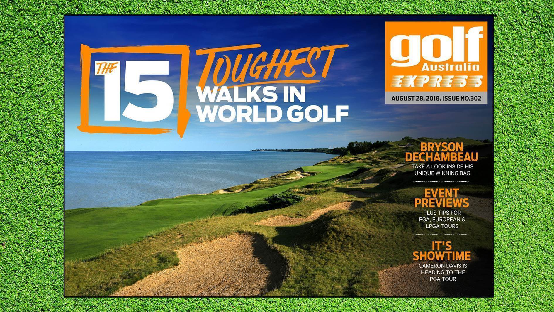 GA Express #302: The 15 toughest walks in world golf