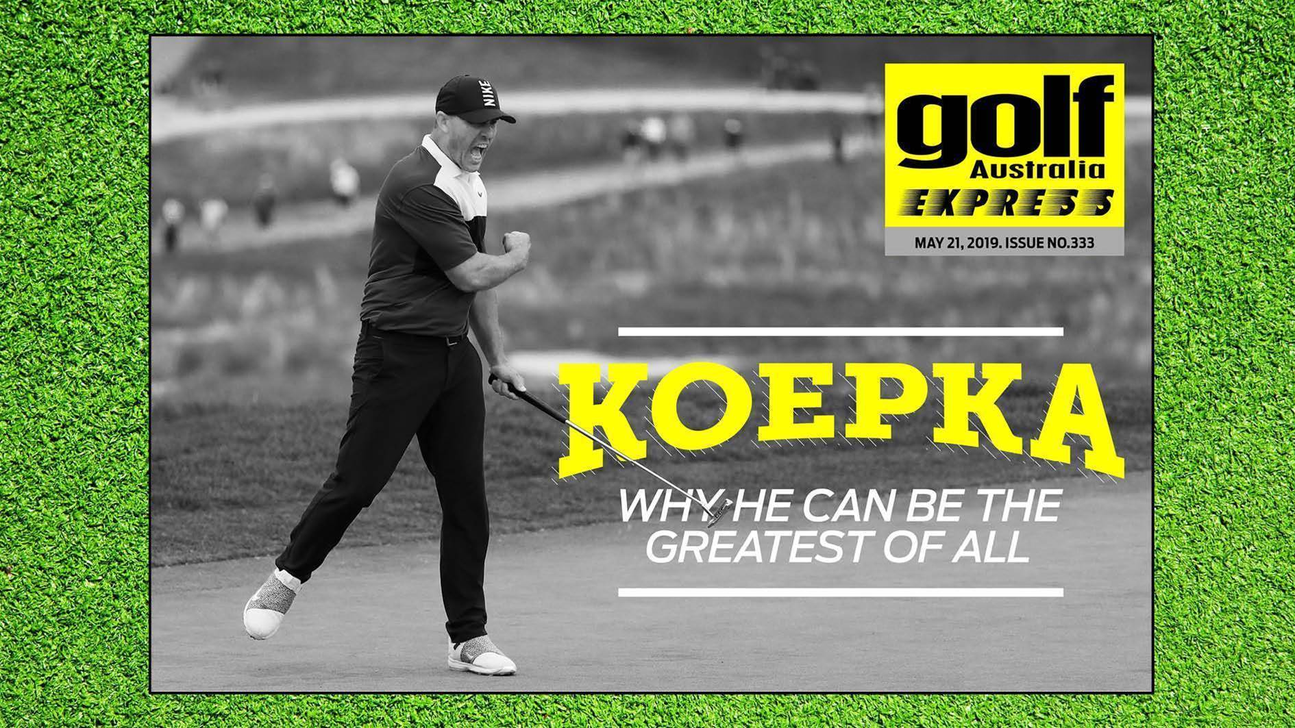 GA Express 333: Koepka - Can he be the greatest of all?