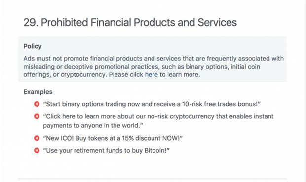 Facebook is banning Bitcoin in an effort to crack down on misleading adverts
