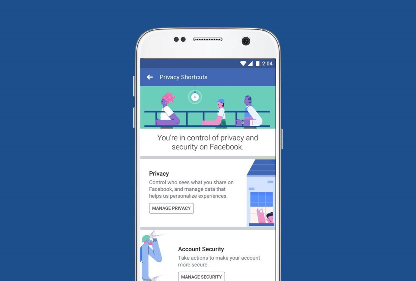 Facebook changes privacy controls in wake of data scandal
