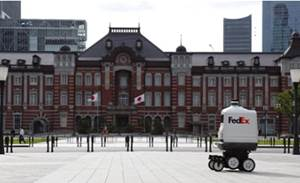 FedEx brings Roxo bot to Japan in contactless delivery trial
