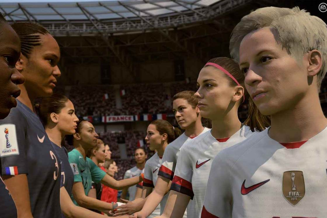 EA Sports introduce Women's World Cup Final game mode to FIFA 19