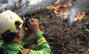 Vic firies look to image sharing platform to manage controlled burns