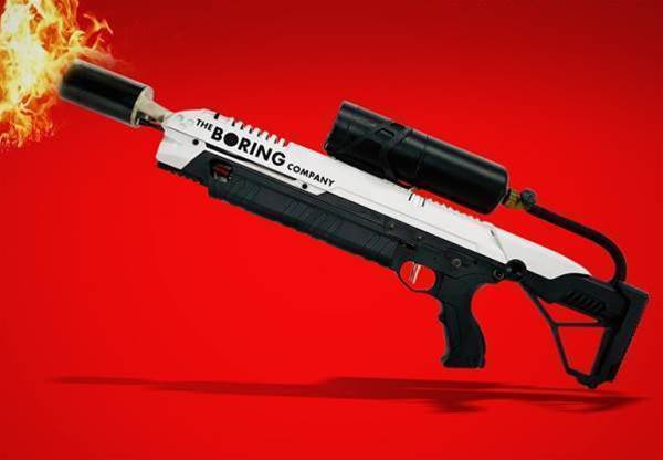 Elon Musk's flamethrower is a real thing you can buy