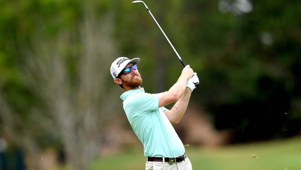 Flanagan emotional after Aussie PGA close call