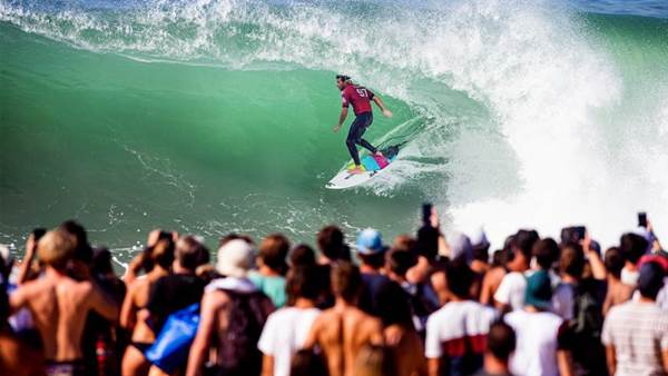 Flores 'Fantastique' at The Quiksilver Pro France