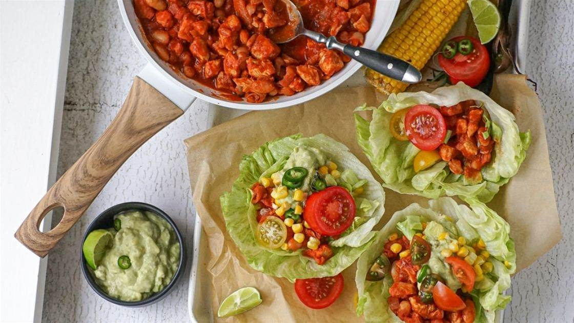 Give Mexican tacos a healthy makeover