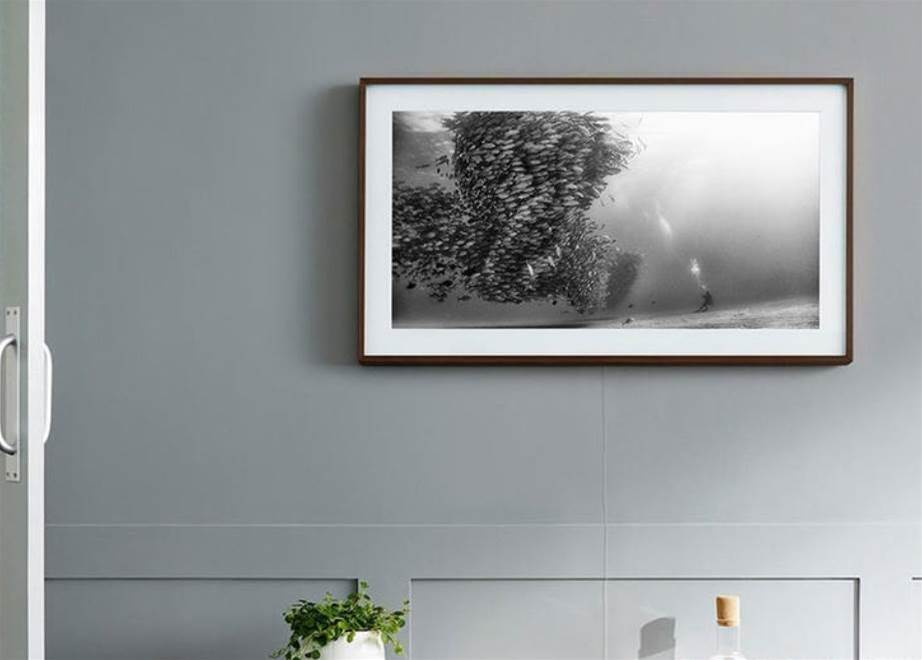 Samsung's updated Frame TV adds HDR10+ and voice control to its arty array of talents