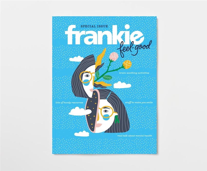 pre-order frankie feel-good, our mental health-focused mag