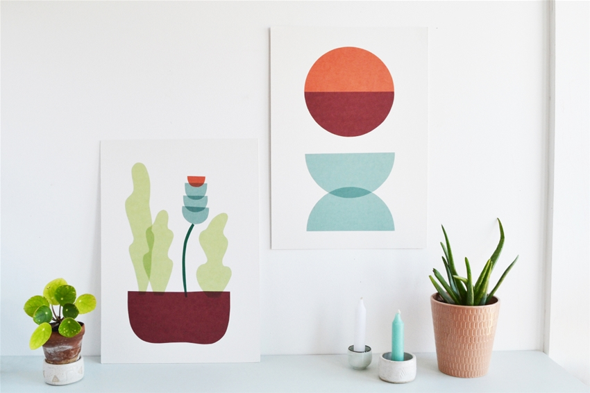 frankie exclusive diy: vellum wall art