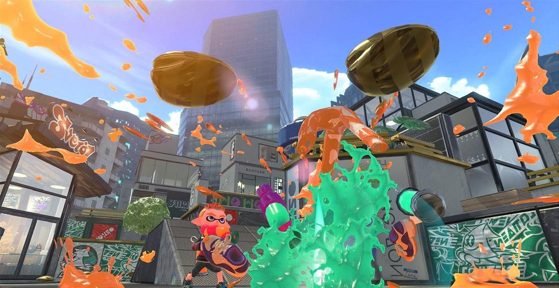 Game Ninja: Splatoon 2 (Clam Blitz)