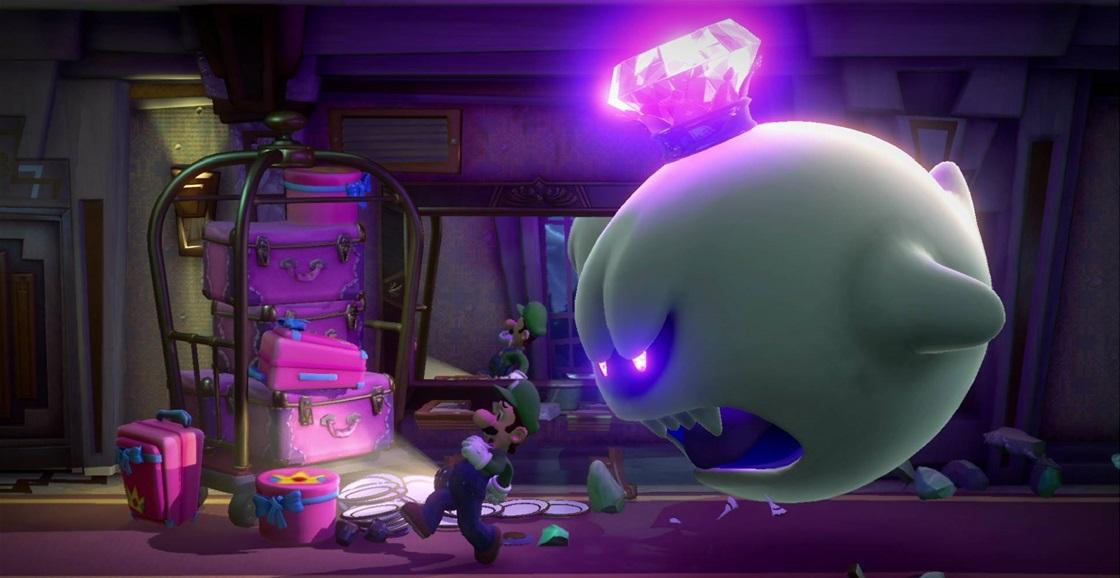 Game Ninja: Luigi's Mansion 3 (King Boo)