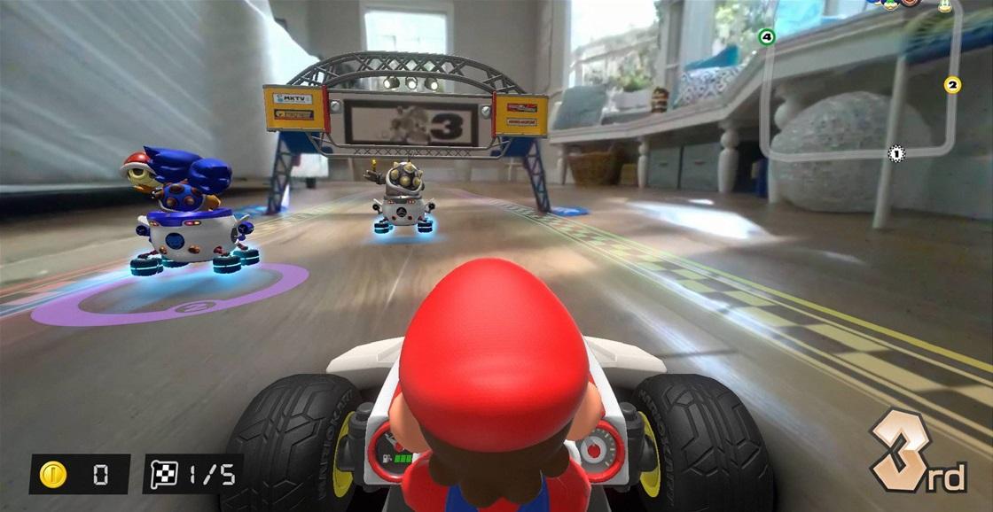 Playing Now: Mario Kart Live: Home Circuit