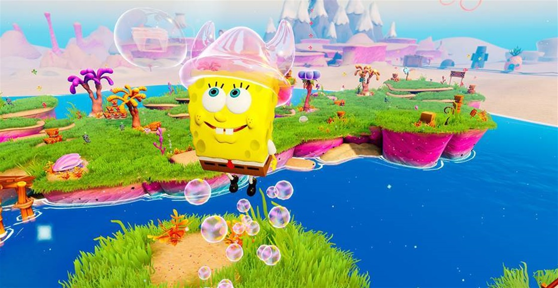 Playing Now: SpongeBob SquarePants: Battle for Bikini Bottom – Rehydrated
