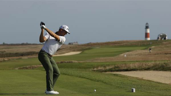 NHL referee and last man in advance at U.S. Mid-Amateur