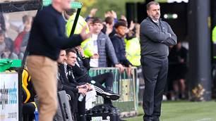 Postecoglou rues Celtic's dismal away record