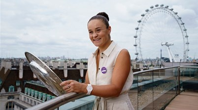 Ash Barty verging on world number one milestone: 'She's like an upgraded version'