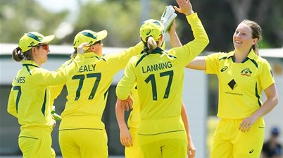 Australia celebrates 25 consecutive ODI victories