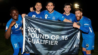 FFA Cup Round of 16 fixtures