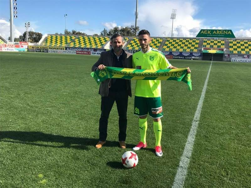 Giannou exits China for Cyprus