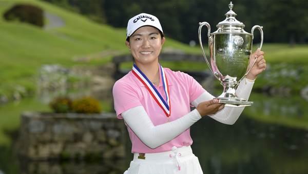 Zhang tops Davis in U.S. Girls' Junior