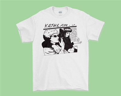 this kath and kim gordon tee is made for foxy ladies