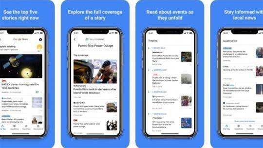 The AI-powered Google News app is now available on iOS