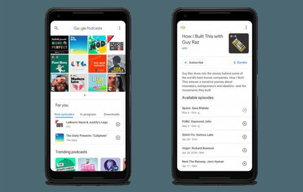 Google is finally taking podcasts seriously with a dedicated app