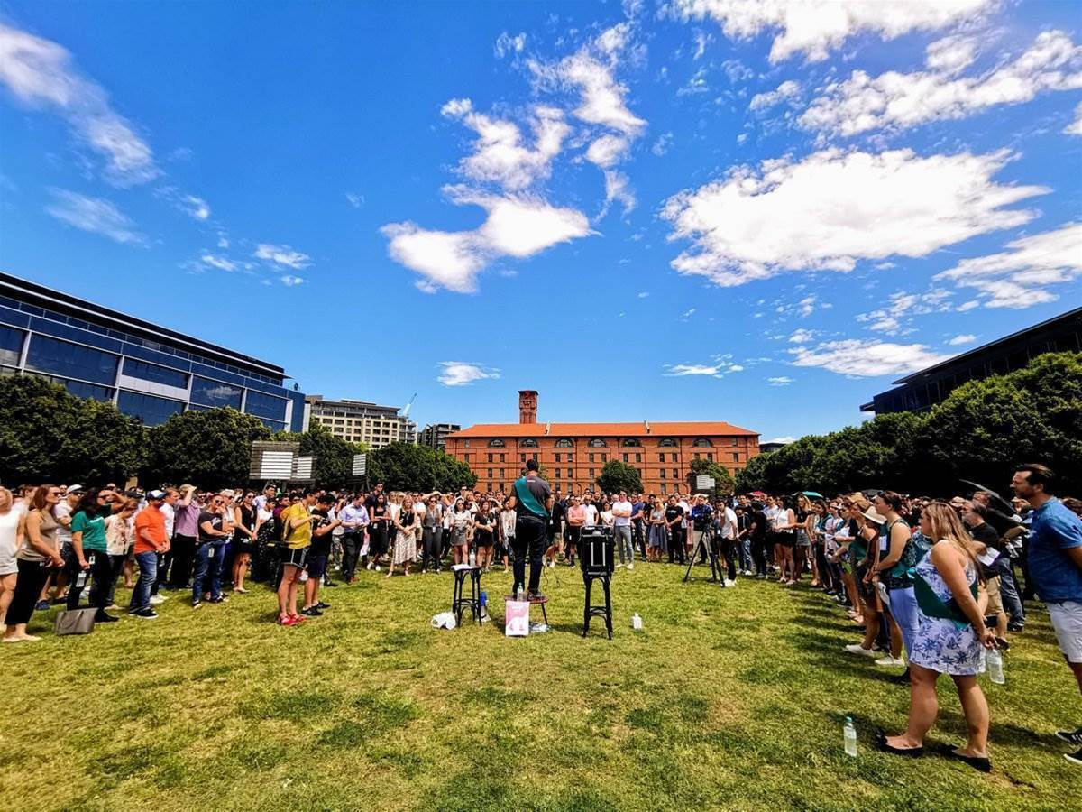 Google staff in Sydney walk out