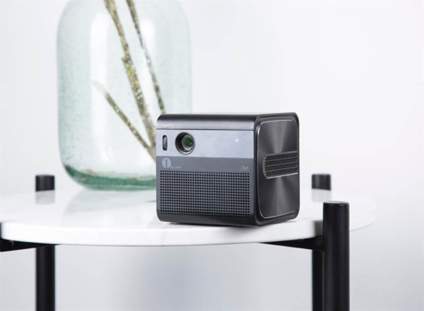 The GoSho is a powerful mini projector that plays nice with your voice assistants