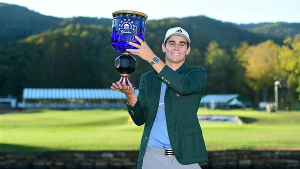 Niemann romps home to historic maiden PGA Tour win