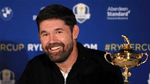 Harrington named European Ryder Cup captain