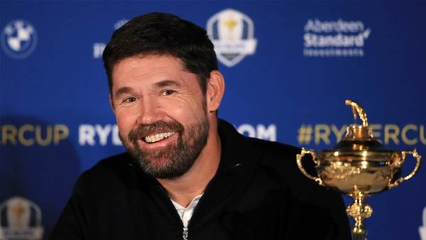 Harrington named European Ryder Cup captain