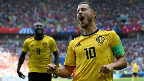 Hazard shrugs off Messi and Ronaldo's World Cup exits