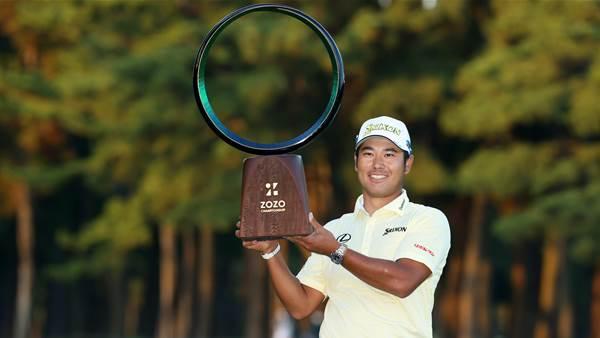 Hideki wins at home